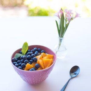 bowl of fruit bare health