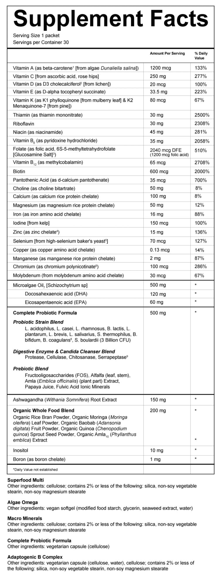 Sakara Vitamins