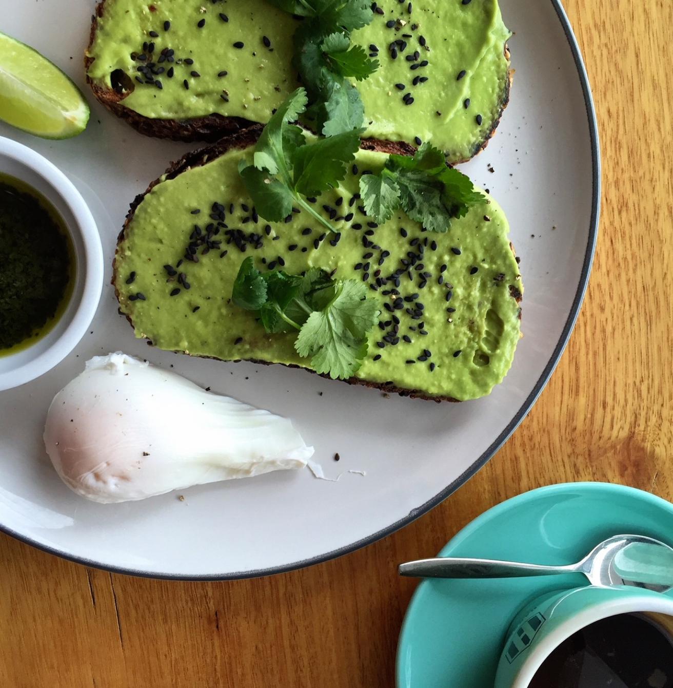 Fancy avocado toast recipe