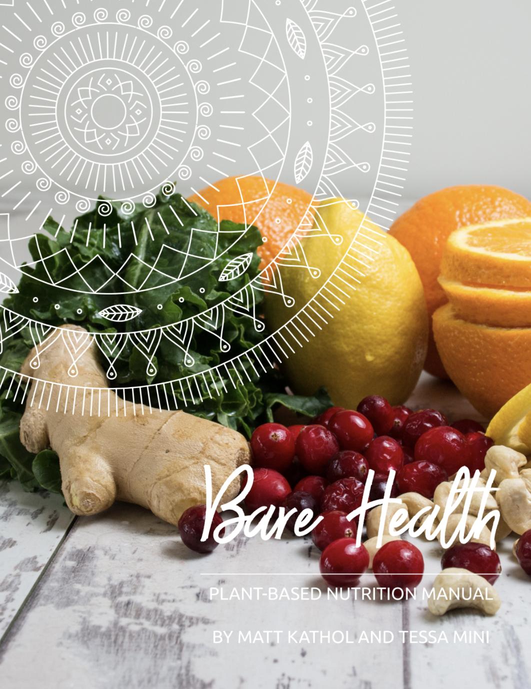 Vegan nutrition handbook